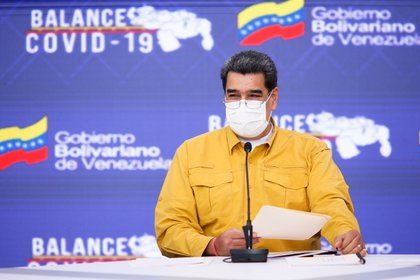 Nicolas Maduro has announced that the Cuban vaccine Abdala (EFE / Prensa Miraflores) will be produced in Venezuela.