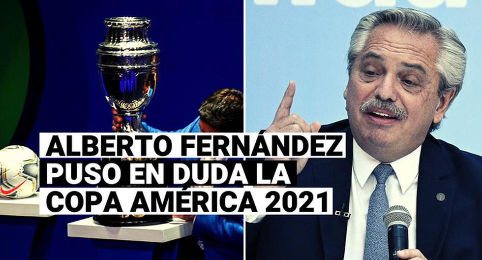 Peru national team, Copa America 2021  Argentine President Alberto Fernandez: I don't want to disappoint the Copa America, but you have to be sane  Video |  CONMEBOL |  Peru |  Argentina |  P |  Total Sports