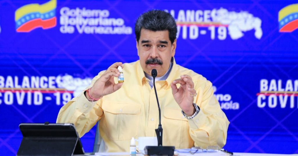"""The National Academy of Medicine of Venezuela has confirmed that Nicolas Maduro's """"miraculous goths"""" only work as a mouthwash."""