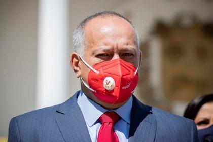 Diosdado Cabello (EFE / Rayner Peña)