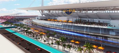 Hard Rock Stadium will be at the heart of the track in Miami