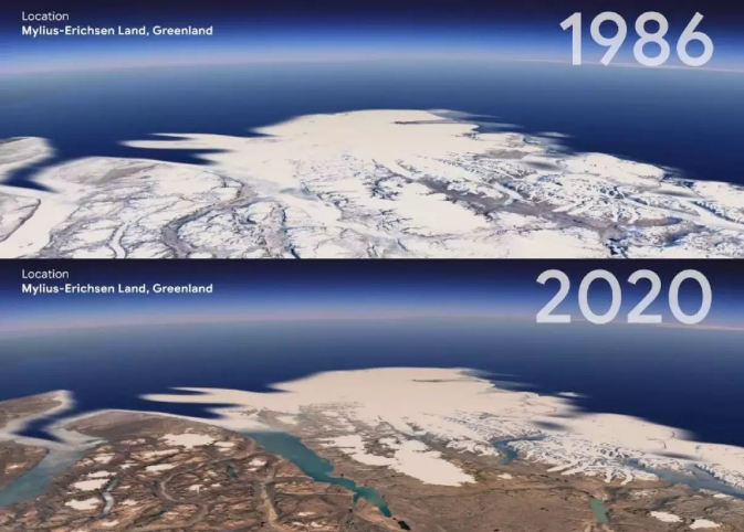 """Traveling back in time?  Check out """"Timelapse"""" for Google Earth that lets you do this"""