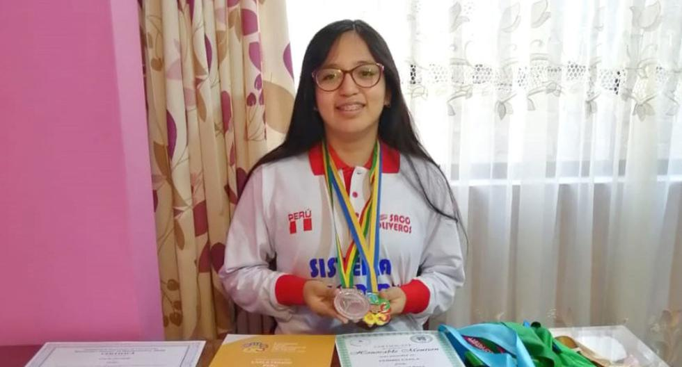 """Champion Carla Fermin: """"The Math Olympics encourages more women to study science and numbers""""  Women 