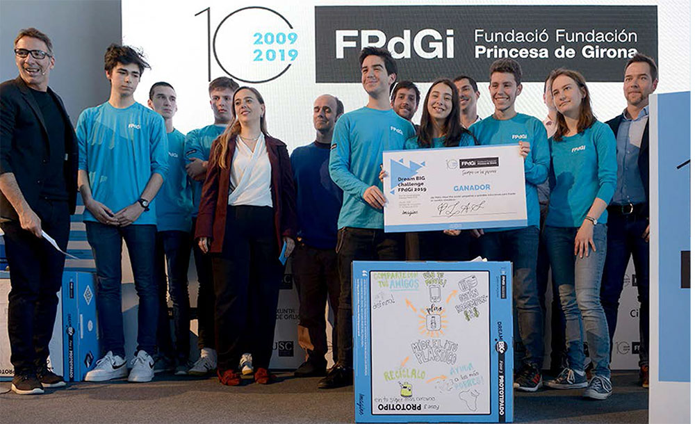The Princess of Girona Foundation Tour in Alicante ends with science and mentoring as champions