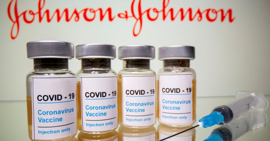 The United States is considering vaccinating with Johnson & Johnson doses this weekend