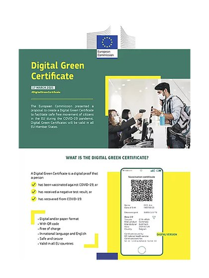 European Commission issues digital certificate for resumption of summer camp trips (source)