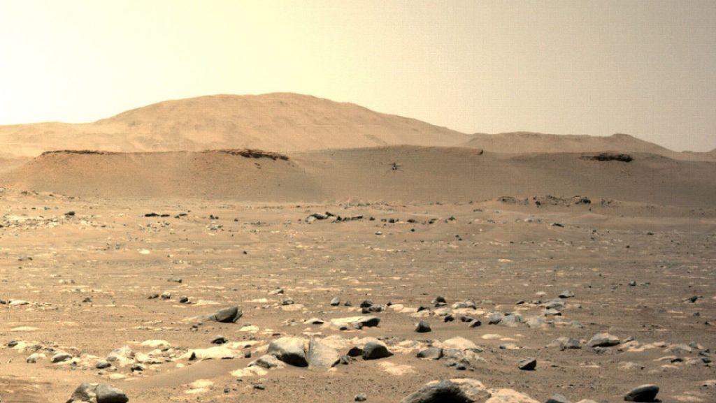 El helicóptero Ingenuity realiza su tercer vuelo sobre Marte estableciendo un nuevo récord de distancia y velocidad