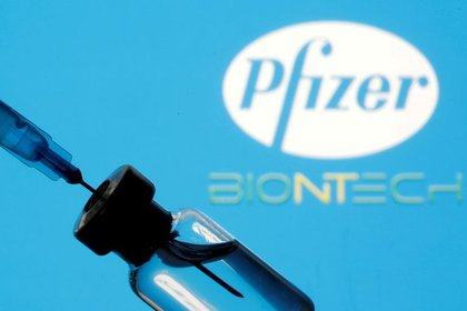 Pfizer and BioNTech are two pharmaceutical companies that have made vaccines against the Coronavirus.  Reuters / Dado Rovic