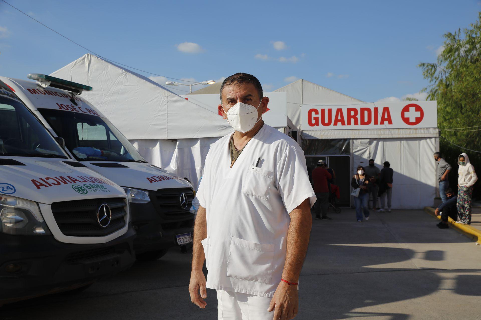 Fabien Truocco, Nurse at Domingo Anggio Municipal Hospital, by Jose C. Paz