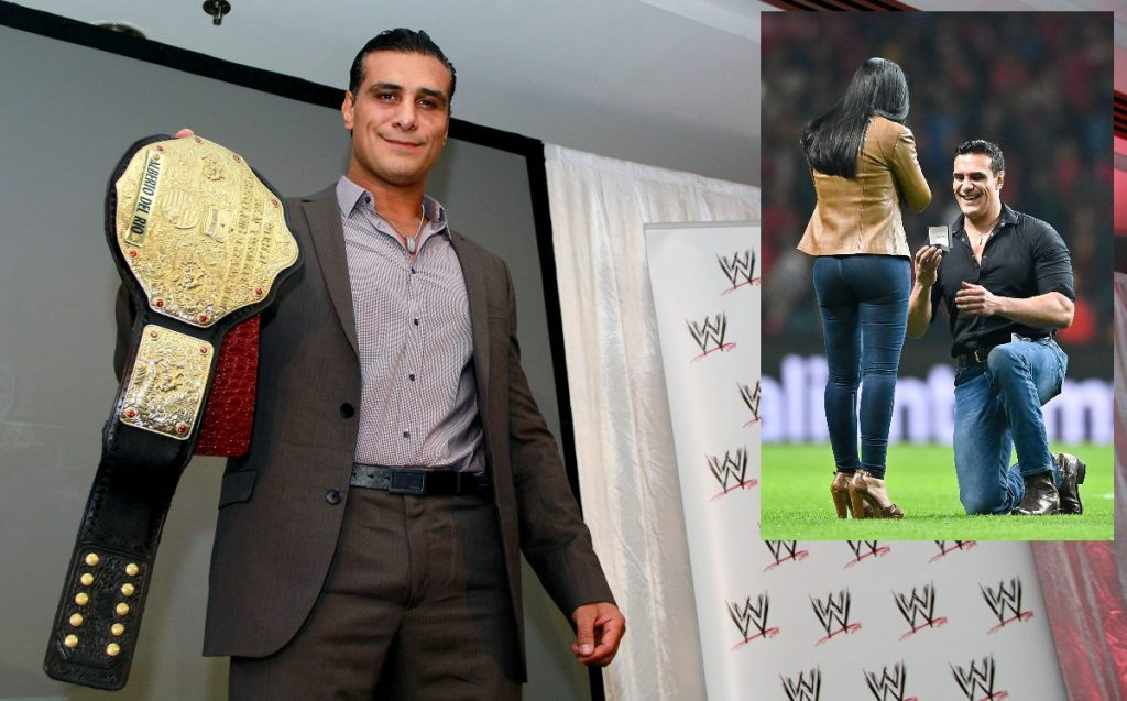 Alberto Del Rio and the Hell he lived when he was sued for ex-Paige