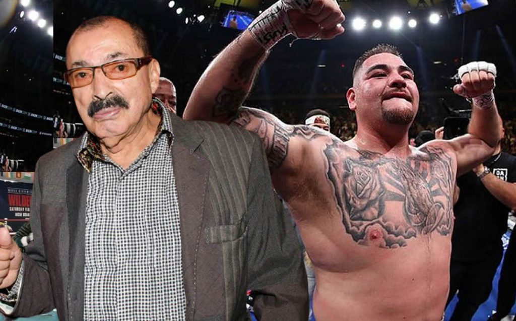 Andy Ruiz's fight against Chris Areola is a scam: Nacho Beristein