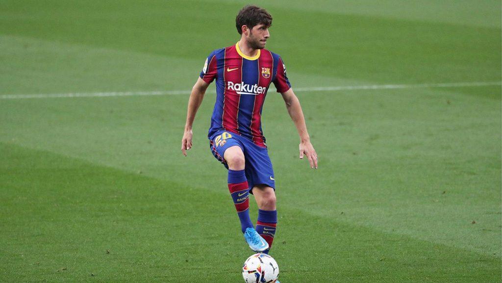 Sergi Roberto en el partido ante el Granada