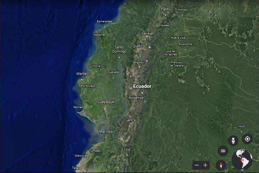 Between 1984 and 2020, it was replaced by satellite imagery in Ecuador  Ecuador |  News