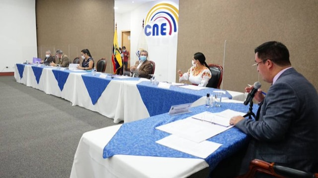 CNE Announces Their Numerical Results Confirm Their Winning Round Two Guillermo Lasso    Politics  News