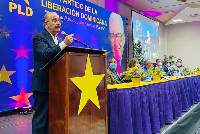 Danilo Medina asegura PLD está de vuelta