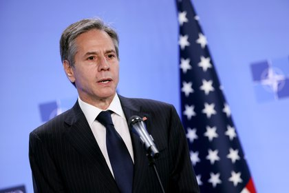 US Secretary of State Anthony Blingen.  EFE / EPA / KENZO TRIBOUILLARD / Archive
