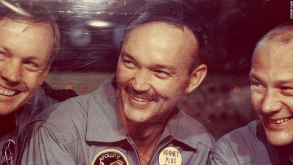 Michael Collins, the astronaut who commanded Apollo 11, has died
