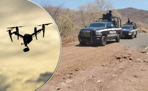 Narcos uses explosive drones to attack police in Mexico