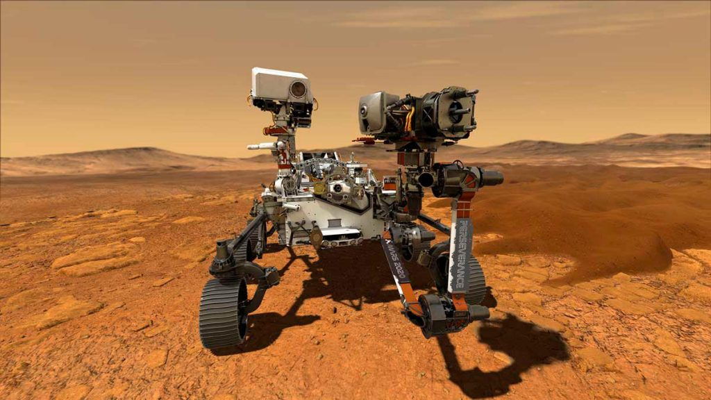 The Perseverance Tool made oxygen on Mars
