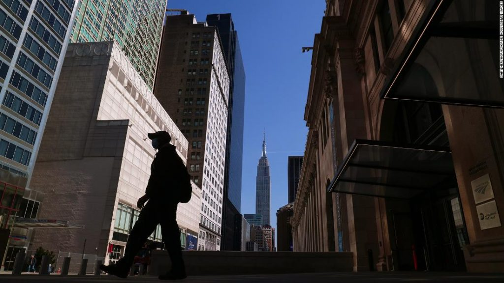 The US economy rose significantly in the first quarter