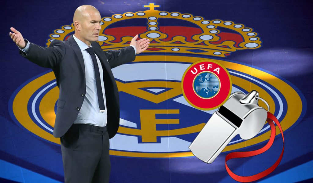 UEFA will issue two penalties against Real Madrid in the Champions League: Pedriolle