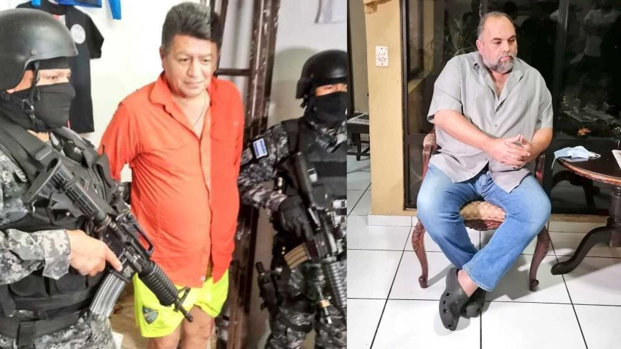 Video: Arrest of mayors of Zacatecoluca and San Rafael Obraguelo for alleged corruption