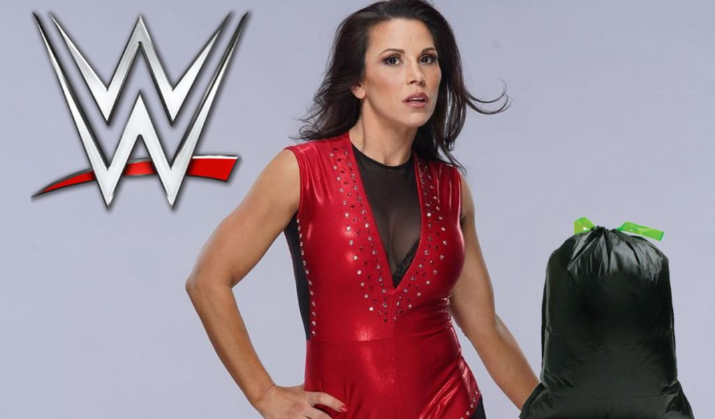 WWE sent his belongings to Mickie James in a garbage bag after the shootout
