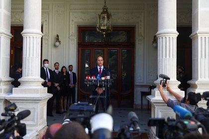 Governor of Rio de Janeiro, now deposed, Wilson Witzel.  REUTERS / Pilar Olivares