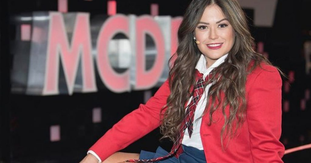 Mariana Echeverria surprised her fans with a photo wearing a swimsuit