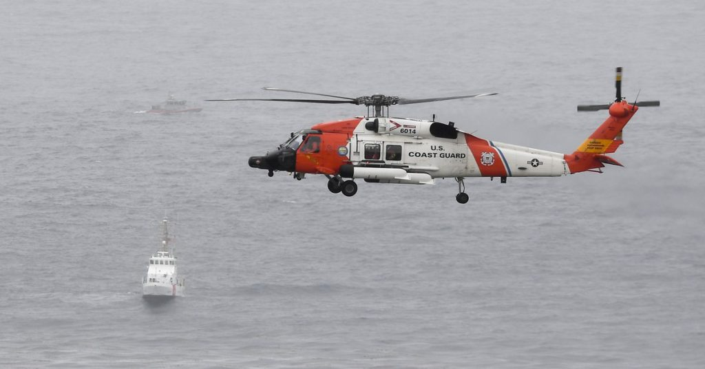 At least three people have died after a boat carrying migrants sank in the United States