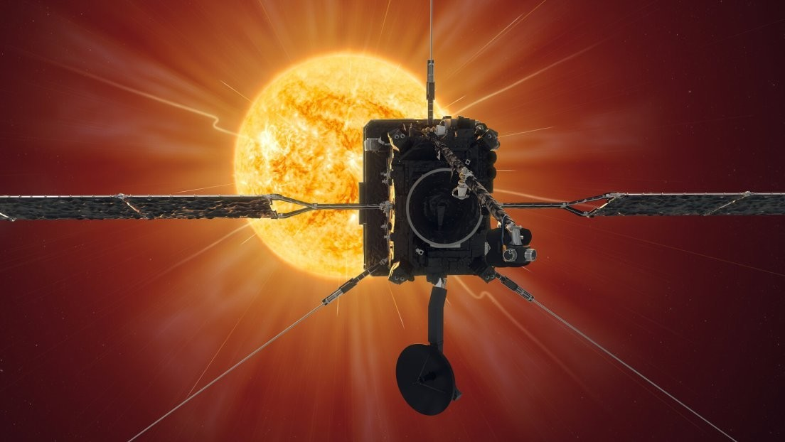 Closer than ever to the Sun: a European ship passes 77 million kilometers from the star