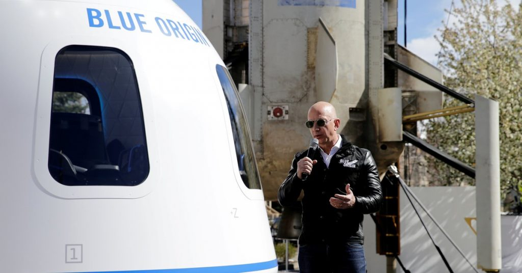 Blue Origin will auction its first space tourism ticket