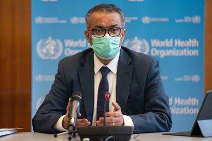 File photo: World Health Organization (WHO) Director-General Tetros Adanom Caprais