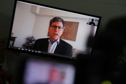 Pictured is Jose Miguel Vivanco, director of the Human Rights Watch (HRW) in the United States, EFE / Rodrigo Sura / Archive