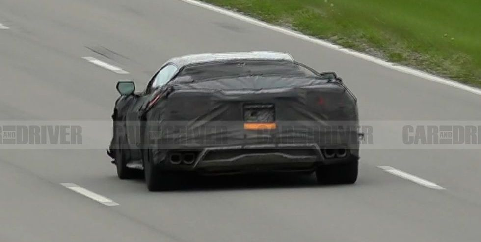 The Chevrolet Corvette C8 Z06 pleases us