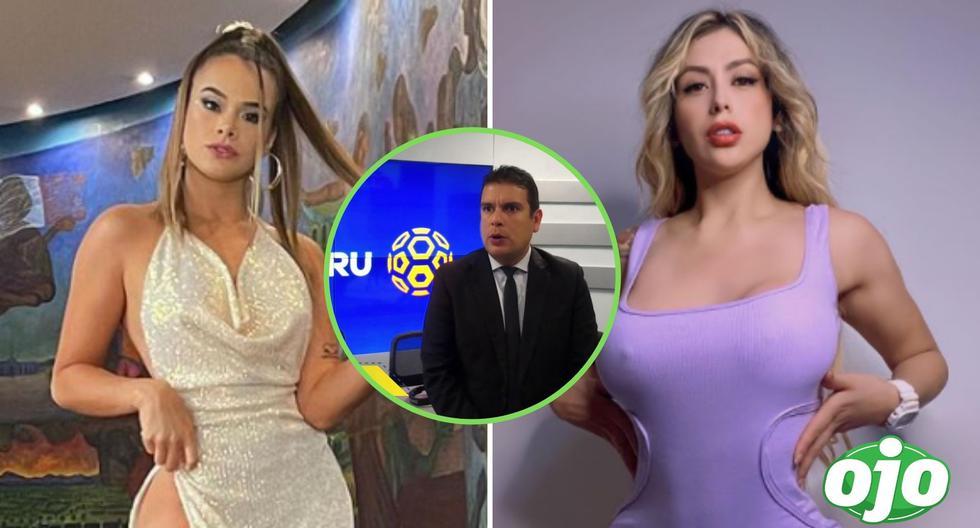 Goal of Peru  Jorge Kiefer and Maxi Mendana apologize for their candid comments towards Josmery Toledo and Fatima Segovia    Eye view