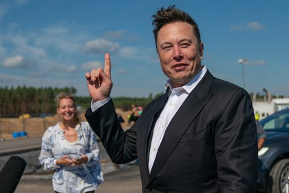 Elon Musk, CEO of de SpaceX