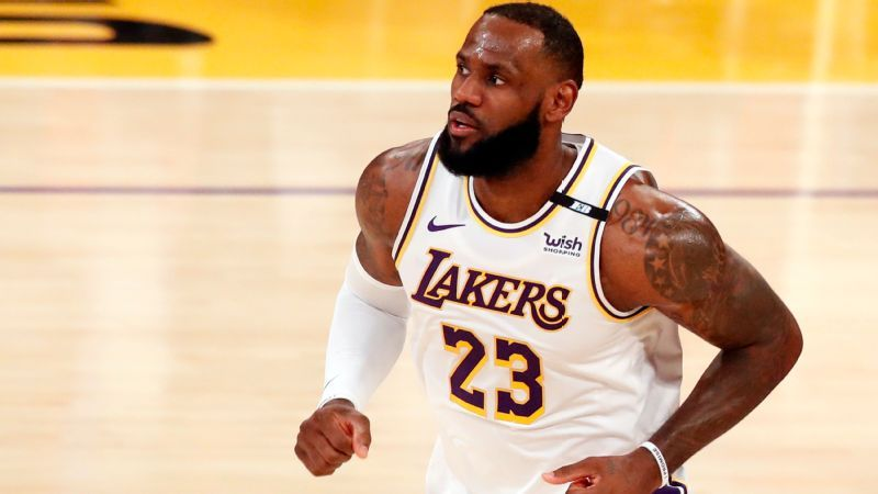 The National Basketball Association said Los Angeles Lakers player LeBron James violated protocol by attending the event