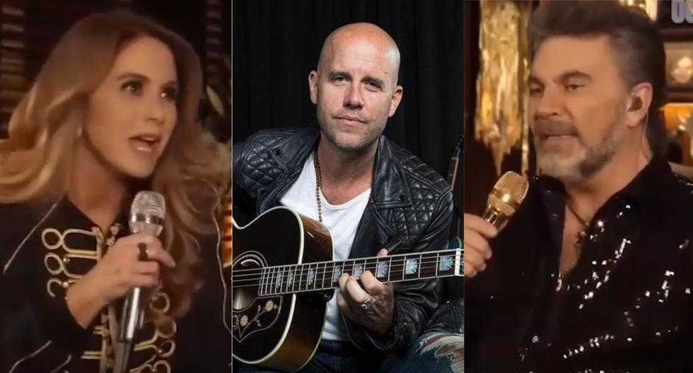 """Lucero sharply criticized Gian Marco's song """"If It Was Me"""" during a concert with Megares: """"It's too bad, too bad"""" (video) 