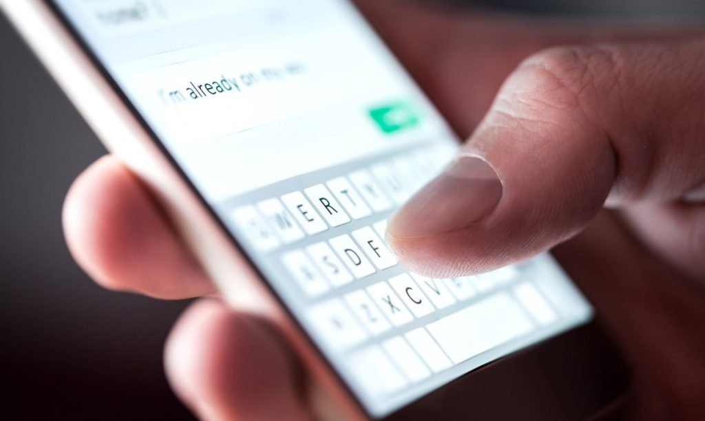 A global group warns of possible text message scams