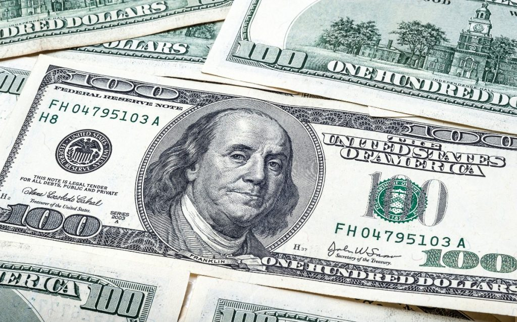Dollar price May 4