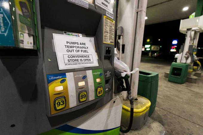 Gasoline shortages are spreading in the United States after cyberbullying