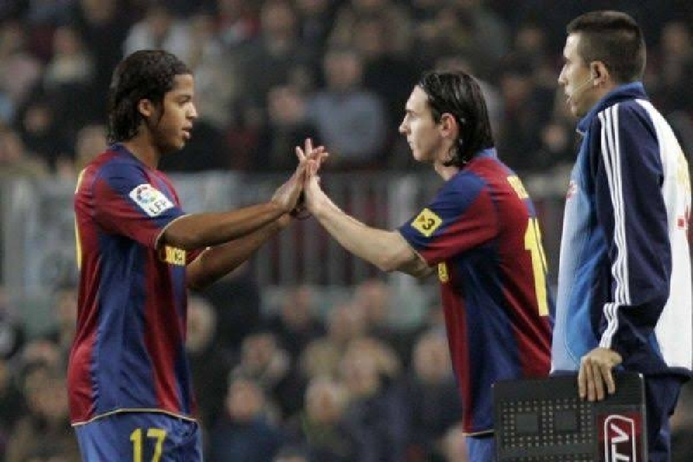 Giovanni dos Santos starred more than Messi at Barcelona