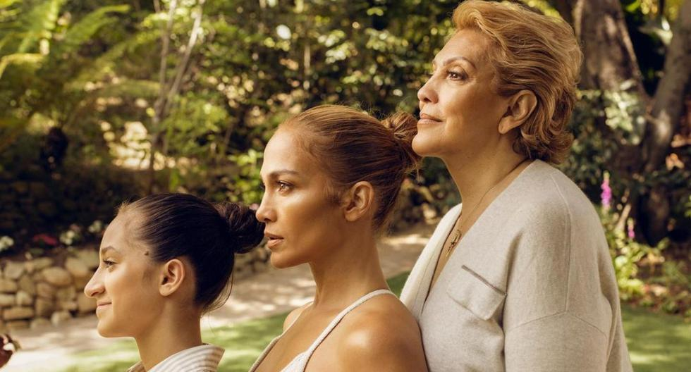 Jennifer Lopez promotes her beauty collection with a photo with her mother, Guadalupe and daughter Amy |  Celebrities |  nnda nnni |  Persons
