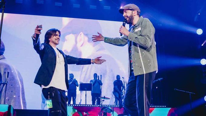 """Juanes le graba """"La bilirrubina"""" en otro ritmo a Juan Luis Guerra"""