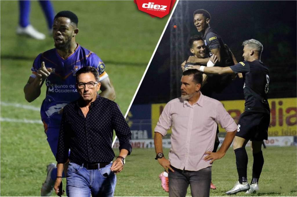 LIVE: great gameplay!  Samuel Alvear rallies for Upnfm against Honduras, Progreso en el Nacional - Diez