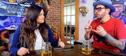 """Mariana Echeveria and Faisei have talked about their friendship before """"I fall into laughter""""Where they became a family (Image: YouTube / Vacy)"""
