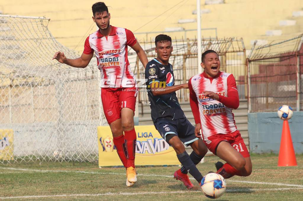 Motagua saves painful draw against Vida in La Ceiba and semi-finalists will be decided in Tegucigalpa-Diez