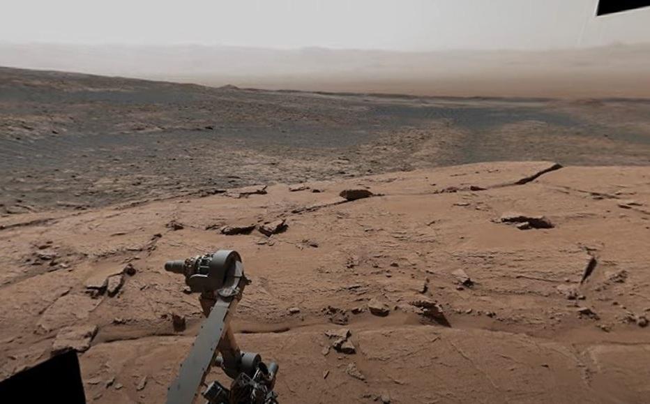 NASA captures Curiosity in a region of Mars similar to France
