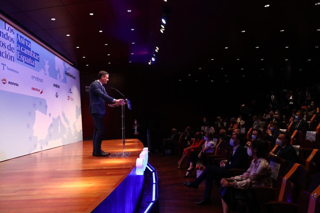 Pedro Sánchez anuncia un nuevo plan en Ciencia y Salud